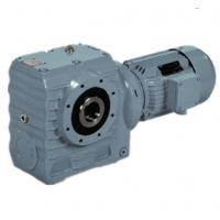 Small Modular Helical Worm Gear Motor Reducer Gearbox For