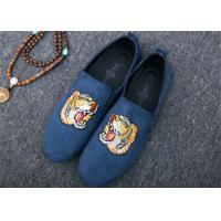 Buy cheap Men Loafer Slip On Shoes Flat Casual Shoes Tiger Metal At Vamp Velvet EUR 38 - 45 from wholesalers