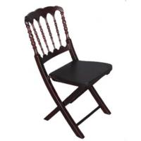 Wholesale Hotel / Home Upholstered Dining Chairs Folding Napoleon Chair With ITS / EN12520 from china suppliers