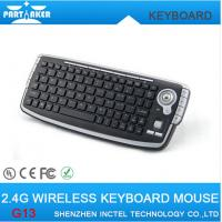 Wholesale Mini Keyboard 2.4G Wireless Keyboard with trackball mouse and air mouse combo set from china suppliers