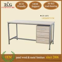 Wholesale modern designed 3D melamine computer desk table from china suppliers