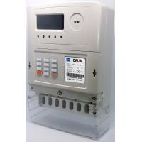 Wholesale STS Token Operated 3 Phase Electric Meter , Electricity Prepayment Meter from china suppliers