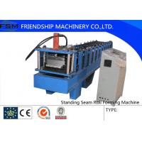 Wholesale Aluminum Beno Panel Standing Seam Roll Forming Machine 4 KW Main Motor With Seamer from china suppliers
