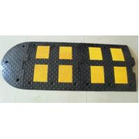 Quality rubber road hump 500*500*50mm speed bump speed breaker for sale