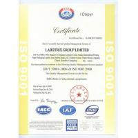 LABOTRIX GROUP LIMITED Certifications