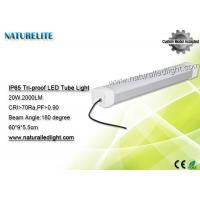 Wholesale 0.6 M 20 W  Led Tubes Lights , Led t5 Tubes 2000LM 180 Degree Bus Station from china suppliers