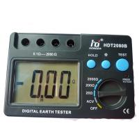 Buy cheap Manual range earth resistance tester Test lock earth loop impedance tester from wholesalers