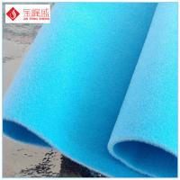 Wholesale Flocked Velvet Double Faced Fabric for Package Decoration , Soft Handing Feeling from china suppliers
