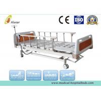Wholesale 5 Funtion Aluminum Alloy Guardrail Hospital Electric Bed With Central Brakes (ALS-E503) from china suppliers