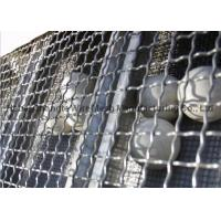 Wholesale Galvanized Square Wire Netting , Stainless Steel Wire Netting For Chemical Industry from china suppliers