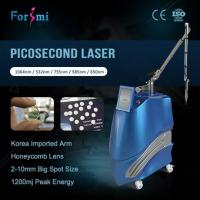 Wholesale Advanced pico laser tattoo remover 600ps pulse width instantly result from factory from china suppliers