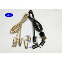 Quality PVC Jacket 3 In1 Flat Extension USB Cable , Multi Port USB Extension Cable for sale
