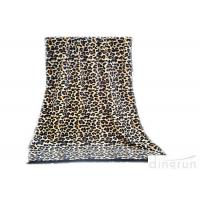 Wholesale Professional Sexy Leopard Custom Printed Beach Towels With Tassel from china suppliers
