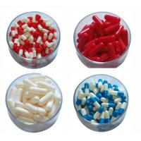 Wholesale Medical Empty Gel Capsules Size 1 / 2 Gelatin Capsules For Food Supplement from china suppliers