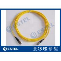 Wholesale Professional Distribution Frame Multimode / Single Mode Fiber Optic Patch Cord OEM from china suppliers