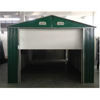 Wholesale Standard Green Movable Medium Metal Car Shelter / Apex Garages For Warehouse 20x10'Ft from china suppliers