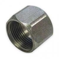 Wholesale BSP BSPT Cap Nut Hydraulic AdaptorFittings Color Zinc Plating from china suppliers
