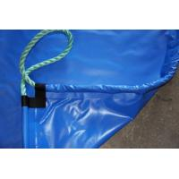 Wholesale Blue Eco friendly Printed PVC Tarpaulin Truck Cover Waterproof with High Strength from china suppliers