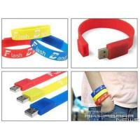 Wholesale USB Silicon Bracelet(USB Wrist Band) from china suppliers