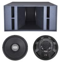 Quality Dual 18'' Subwoofer 2500W RMS 5000W Peak Pro Concert Subwoofer for sale