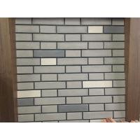 Wholesale Building Wall Cladding Mixed Color Split Brick Veneer Wall Panels Different Sizes from china suppliers