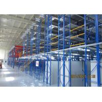 Wholesale Pallet Rack Supported Mezzanine , Steel Warehouse Mezzanine Floors For Storage from china suppliers
