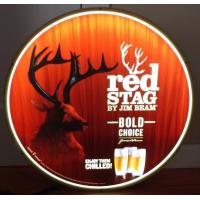 Buy cheap Jim Beam Red Stag Whiskey Led Light Up Sign Buck Deer Game Room Man Cave from wholesalers