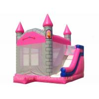 Quality Kids Beautiful Dolphin 0.55mm PVC Inflatable Jumping Bouncy Castle with CE Blower for sale