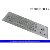 Wholesale Vandal Proof Stainless Steel Industrial Computer Keyboard With 64 Keys from china suppliers
