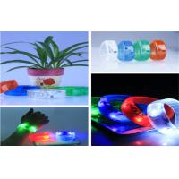 Wholesale High Brightness Illuminated Sound Activated LED Flashing Bracelet For Exhibition from china suppliers