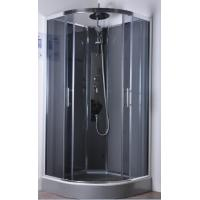 Quality Commercial Quadrant Shower Cubicles , Curved Glass Shower Enclosures for sale