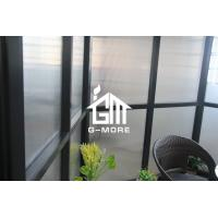 Wholesale 390 X 343 X 290CM Dark Grey Color New Design Hexagon Aluminum Greenhouse from china suppliers