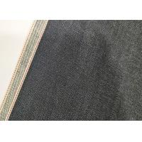 China 11oz Vintage Selvedge Natural Denim Fabric 70*56 Density Cotton Material W93826 on sale