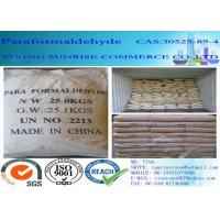 Wholesale Paraformaldehyde Industrial Organic Chemicals CAS 30525-89-4 White Granular Solid from china suppliers