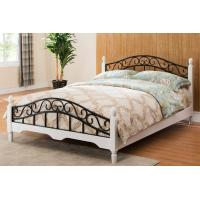 Wholesale European Style Wood Slat Metal Frame Bed Girls Bedroom Funiture Rusting Resistance from china suppliers