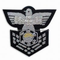 Wholesale Emblem/Badge, Suitable for Apparel, Garments, Homespun Fabric and Room Ornaments from china suppliers