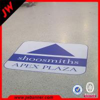 Quality ACustom Printing Floor Advertising Sticker Eco vinyl floor tile digital printing sticker for sale