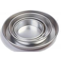Wholesale Round Bread Baking Equipment Aluminium Bakeware Pizza Pan Anode / Super Hard Anodic from china suppliers