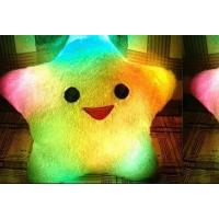 Wholesale create typical fantasy colorful light-emitting pillow Lucky Star Pillow from china suppliers