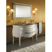 Buy cheap White with Golden color countertop solid surface from wholesalers