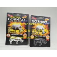 Wholesale Rhino King USA Sex Pills Packaging / Go Rhino Pill Case / Rhino 7 Plastic 3D Card from china suppliers