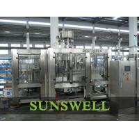 Wholesale 3 In 1 Water Carbonated Filling Machine With Washer / Filler / Capper from china suppliers