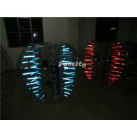 Wholesale Led Light Shinning Inflatable Bubble Ball PVC / TPU For Play Soccer from china suppliers