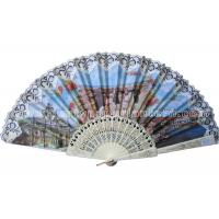 Wholesale Folk Style Lace Hand Fans Traditional from china suppliers