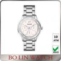 Wholesale Swiss Qurtz Movet Ladies Chain Watches With Large Faces SS Bracelet from china suppliers