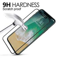 Wholesale 9H Hardness 3D Round Edge Screen Protector Full Coverage Tempered Glass Film For Apple iphone 8 from china suppliers