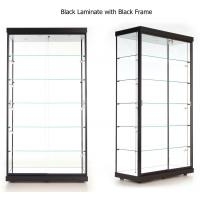 Wholesale LED Illuminated Wall Showcase Cabinet , Stand Up Retail Store Display Cases from china suppliers