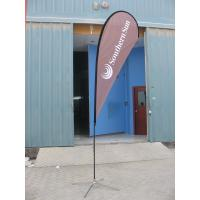 Wholesale Custom portable advertising tear drop flag from china suppliers