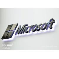 Wholesale Custom Elegant Stainless Steel Signs Channel Letter Signs For Store Decoration from china suppliers