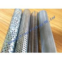 Wholesale Stainless Steel Spiral Perforated Metal Tube For Filter Element Thickness 0.5~2.5mm from china suppliers